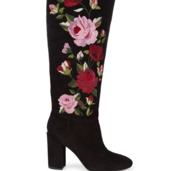 5f9ab506d86 kate spade Shoes - NEW KATE SPADE NY GREENFIELD FLORAL BOOT SIZE 7